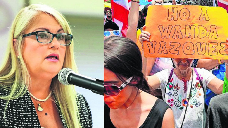 Wanda Vázquez Puerto Rico San Juan gobernadora Luis Rivera Marín Ricardo Rosselló constitución estadounidense