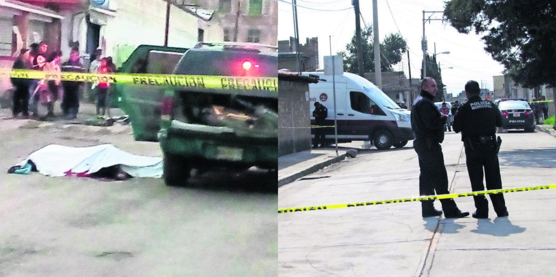 Acribillados Toluca San Andrés Cuexcontitlán San Pablo Autopan asesinatos