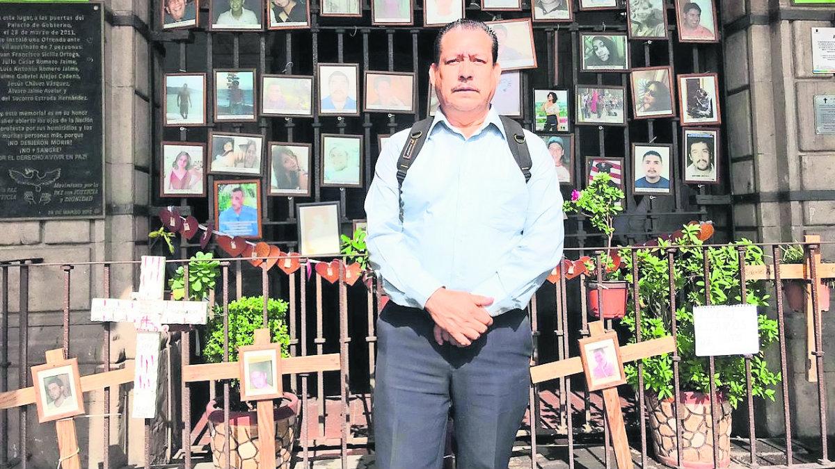 camarógrafo herido ataque asesinato líderes cetemistas explanada cuernavaca balacera vuelve a trabajar balazo morelos