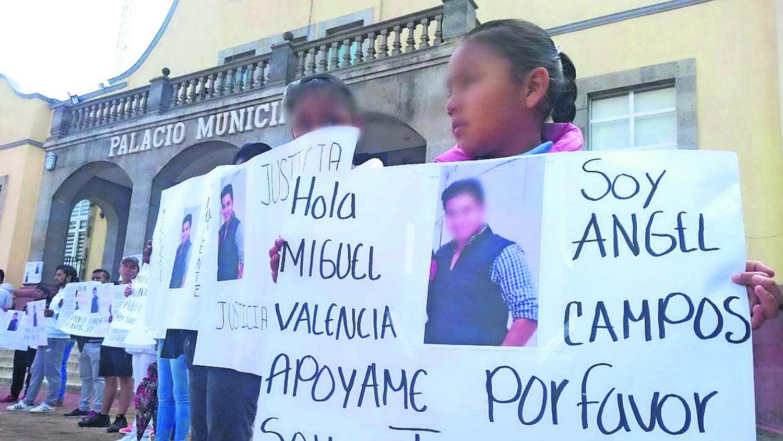 Capulhuac Elsa María Campos Meza marcha Tenango delito violación Miguel Ángel N José Trinidad N Edomex