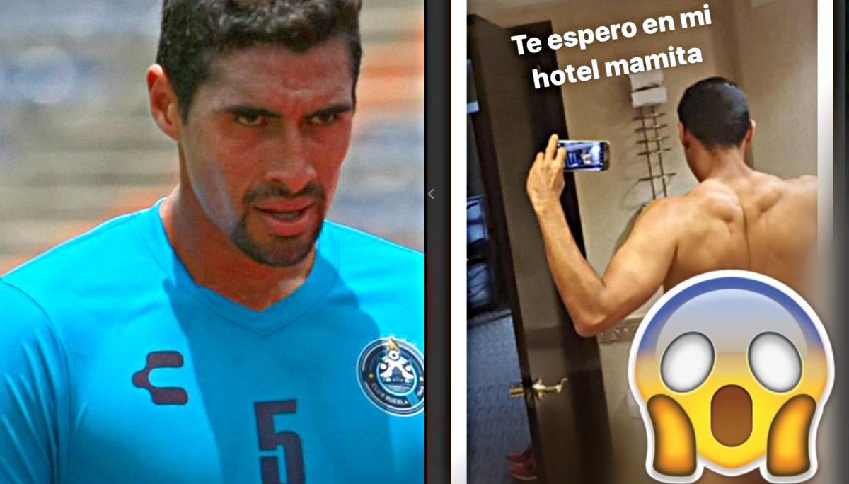 pato araujo desnudo instragram hackean redes sociales jugador