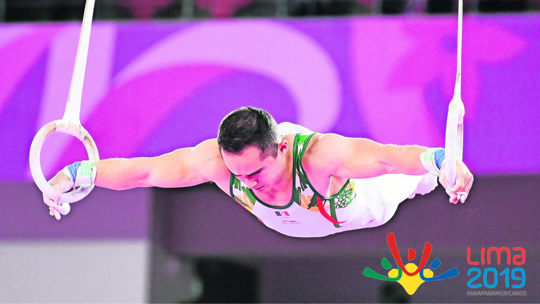 Fabián de la Luna Juegos Panamericanos Lima 2019 Delegación Mexicana gimnasia artística medalla oro
