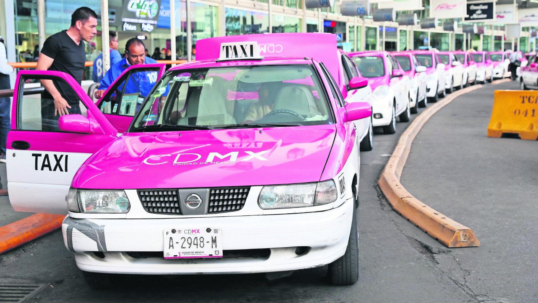 taxis delitos en promedio diario cdmx
