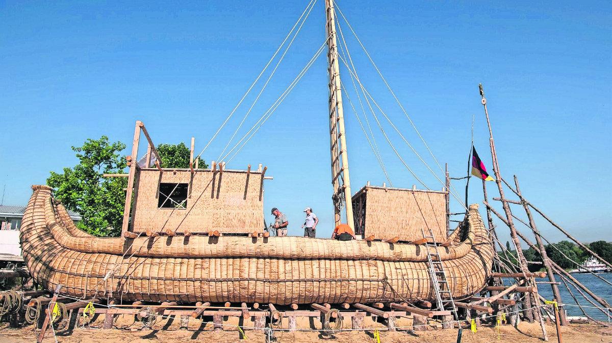 investigadores búlgaros buscan cruzar mar mediterráneo antiguos egipcios barcos papiro caña Bulgaria