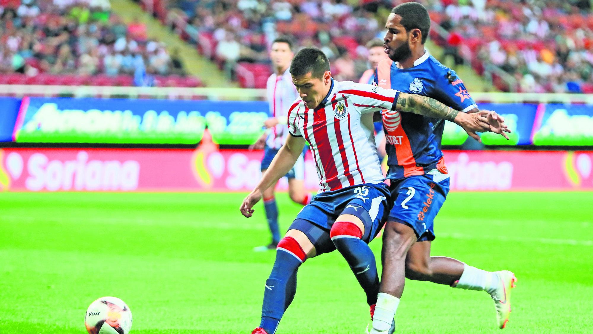 Chivas visita al Puebla en busca de su segundo triunfo en la Liga MX