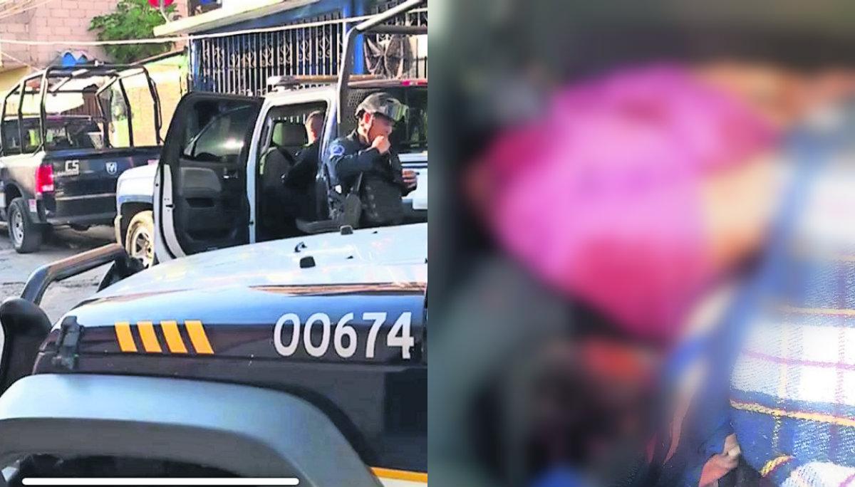 cadáveres ejecutados dentro de un taxi muertos balazos tiro de gracia elementos del mando único Jiutepec Morelos
