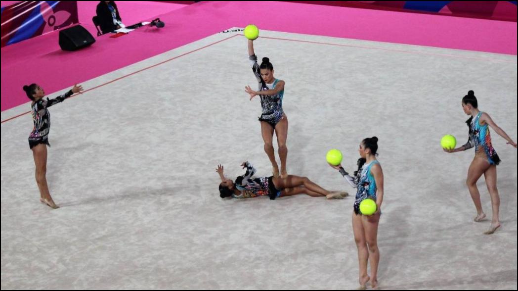 Gimnasia Rítmica da oro 20 a México en Panamericanos