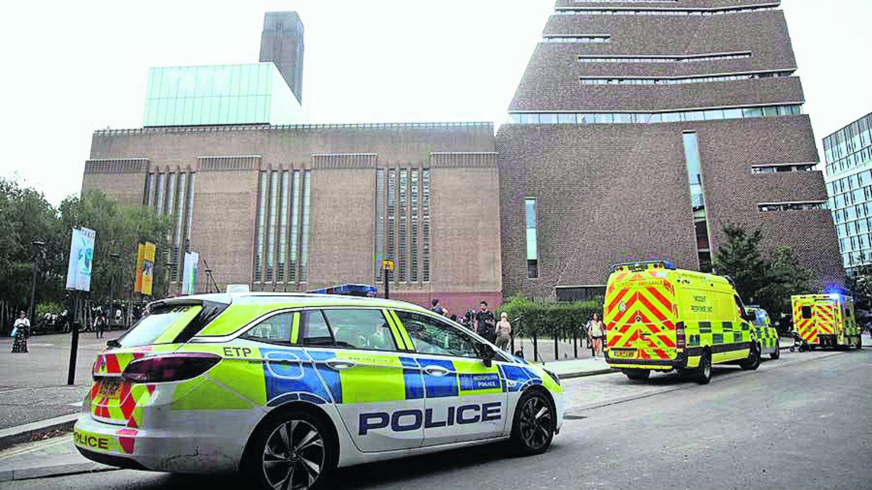 Tate Modern Museum Londres Inglaterra