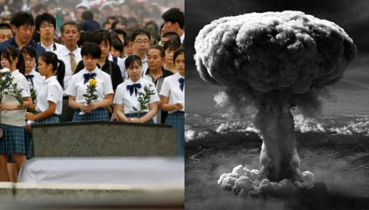 aniversario ataque bomba nuclear hiroshima nagasaki segunda guerra mundial 74 años piden paz un mundo sin armas nucleares japón
