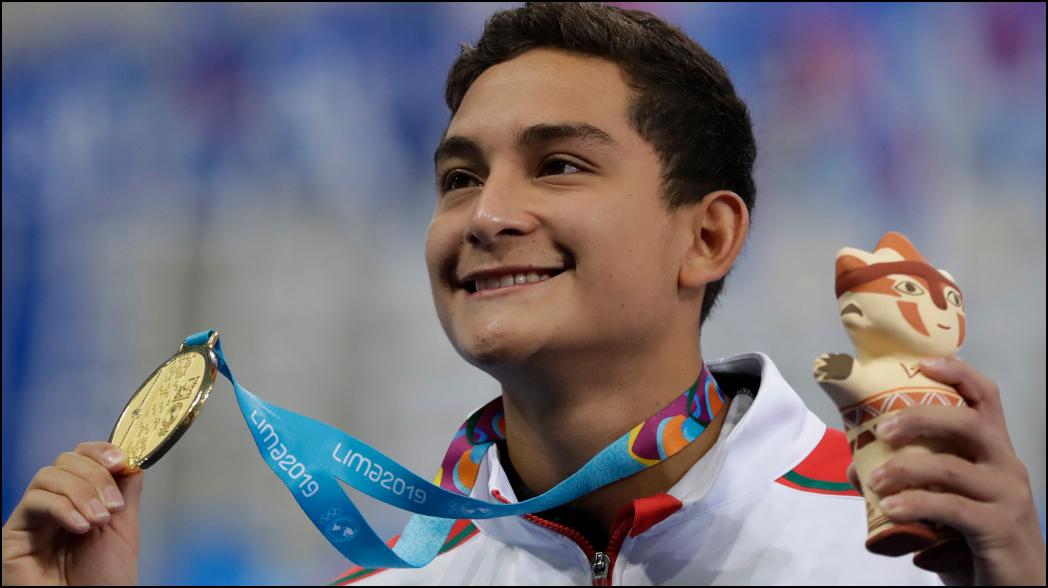 El 'flojo' que ganó medalla de oro en Juegos Panamericanos para México