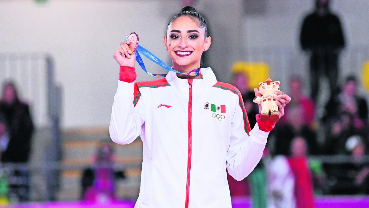 karla díaz atleta medalla bronce México juegos panamericanos lima 2019 medallero