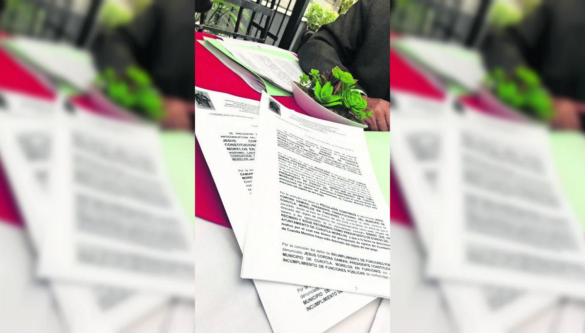Trabajadores del Ayuntamiento denuncian al alcalde de Cuautla por peculado