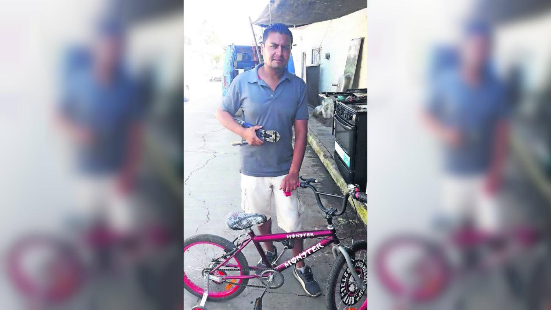 Asalto Yautepec bicicleta colonia La Joya