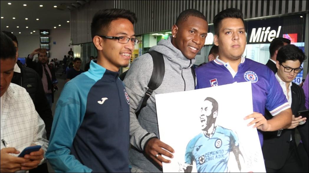 Venir a Cruz Azul es un sueño hecho realidad: Bryan Angulo