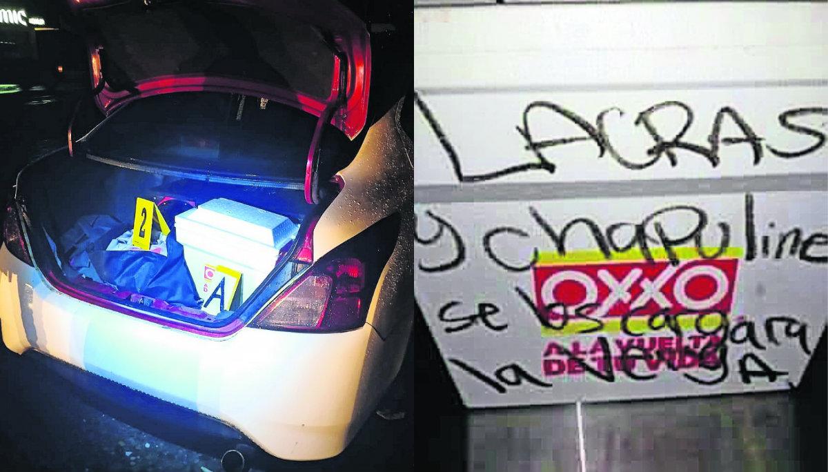 detienen taxista cabeza humana cadáver hielera cajuela narcomensaje amenaza cuerpo abandonado tlatenchi jojutla morelos