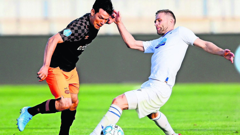 Chucky Lozano futbolista mexicano Europa League Italia