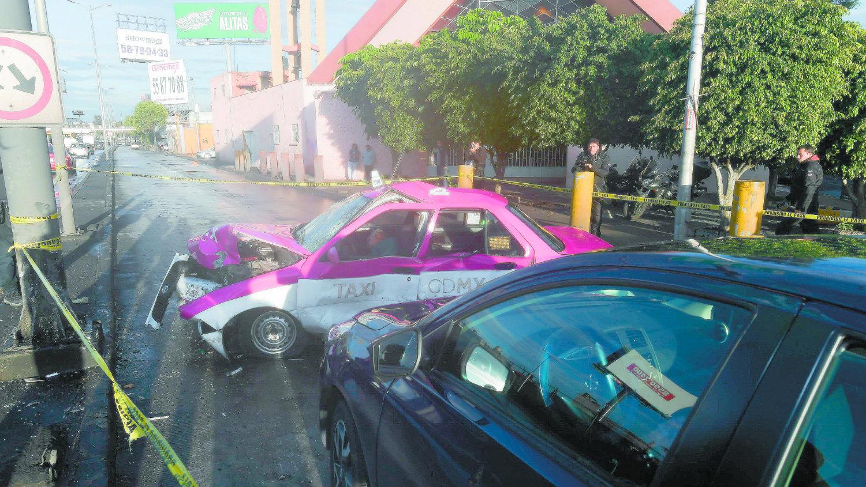 José Orlando taxista accidente vial Circuito Interior alcaldía Gustavo A. Madero