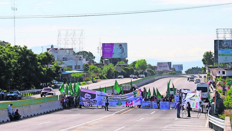 Protestas campesinos Cuautla Morelos agricultores