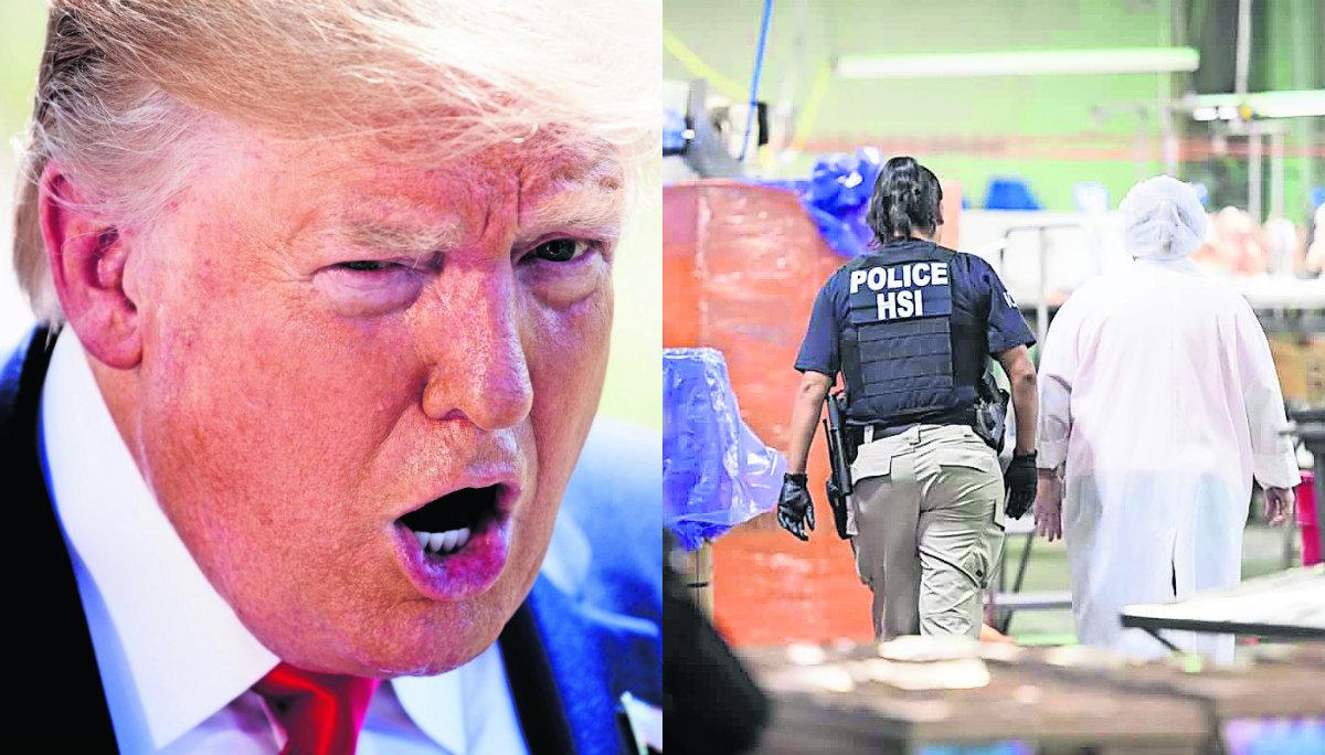 Donald Trump defiende armas y redadas acusa a Hollywood de racista