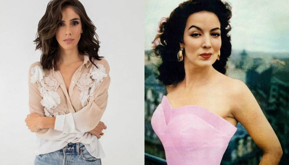 sandra echeverría actriz interpretará María Félix La Doña bioserie serie biográfica televisa grabaciones