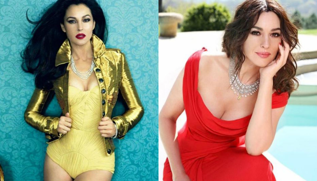 monica bellucci actriz belleza intacta madura sexy instagram fotos sensual bikini italiana