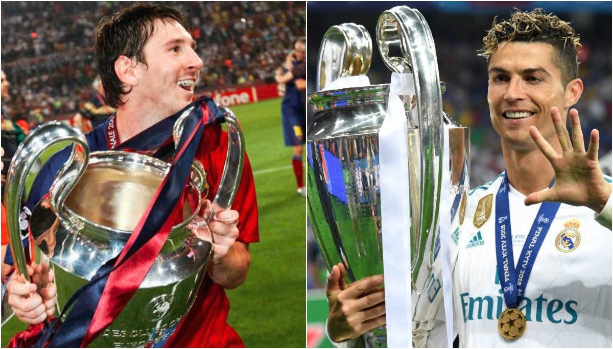 Cristiano ronaldo diferencia entre él Lionel Messi futbol internacional