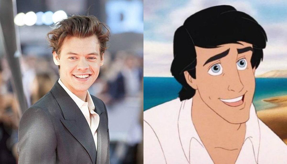 Harry Styles rechaza ser el Príncipe Eric en el live action de La Sirenita