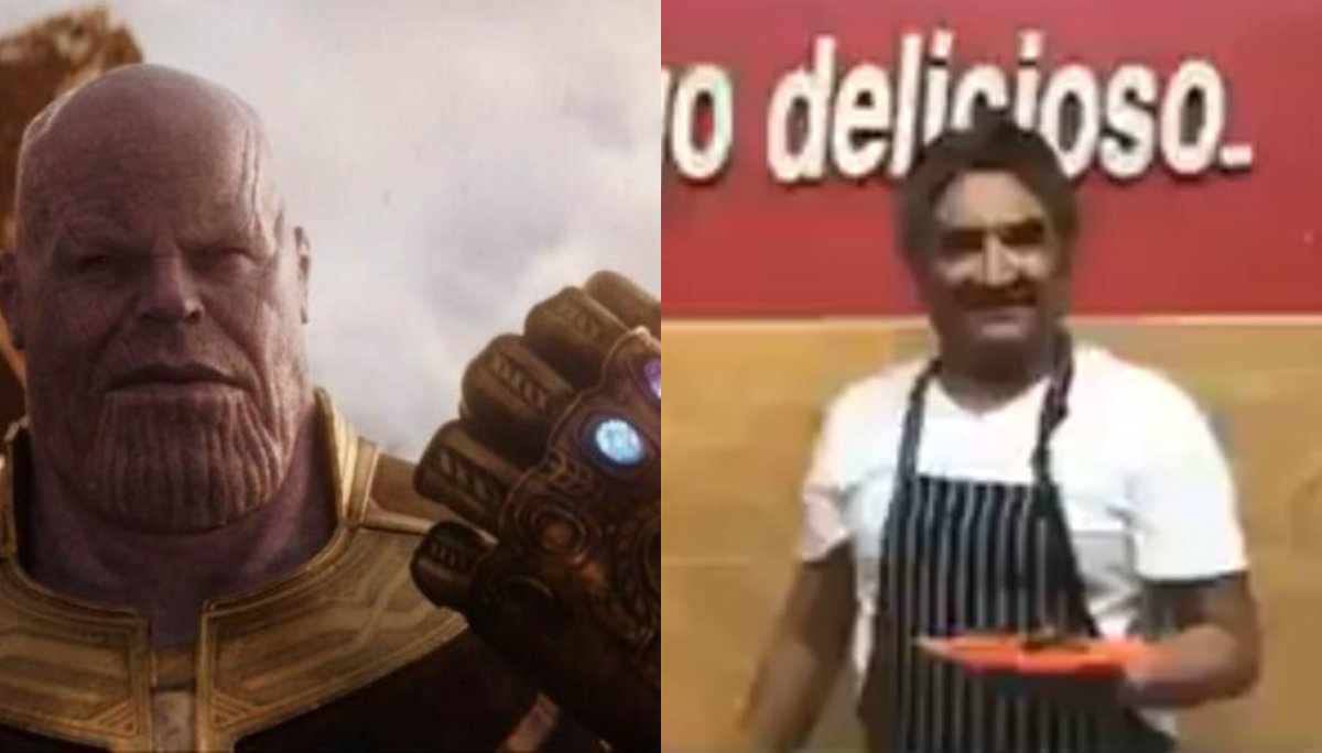 Promocionan taquería al estilo de Avengers Endgame y se hace viral
