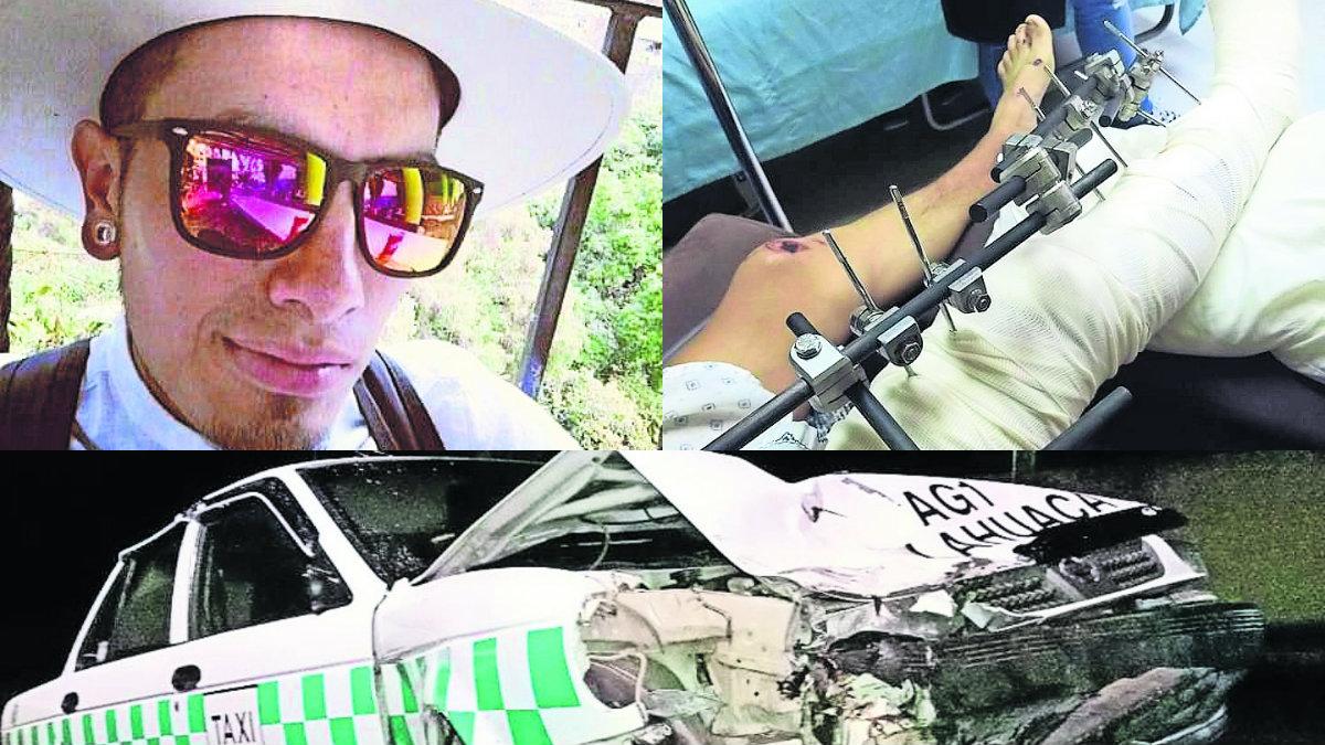 mujer futbolista muere y novio pierde pierna edomex