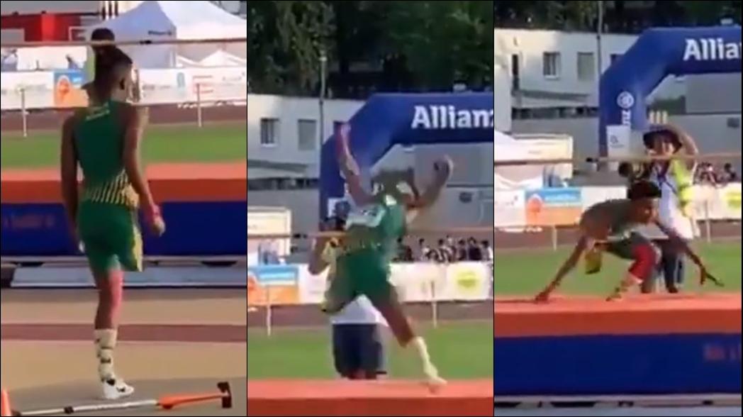 ¡Increíble! El salto de un atleta paralímpico