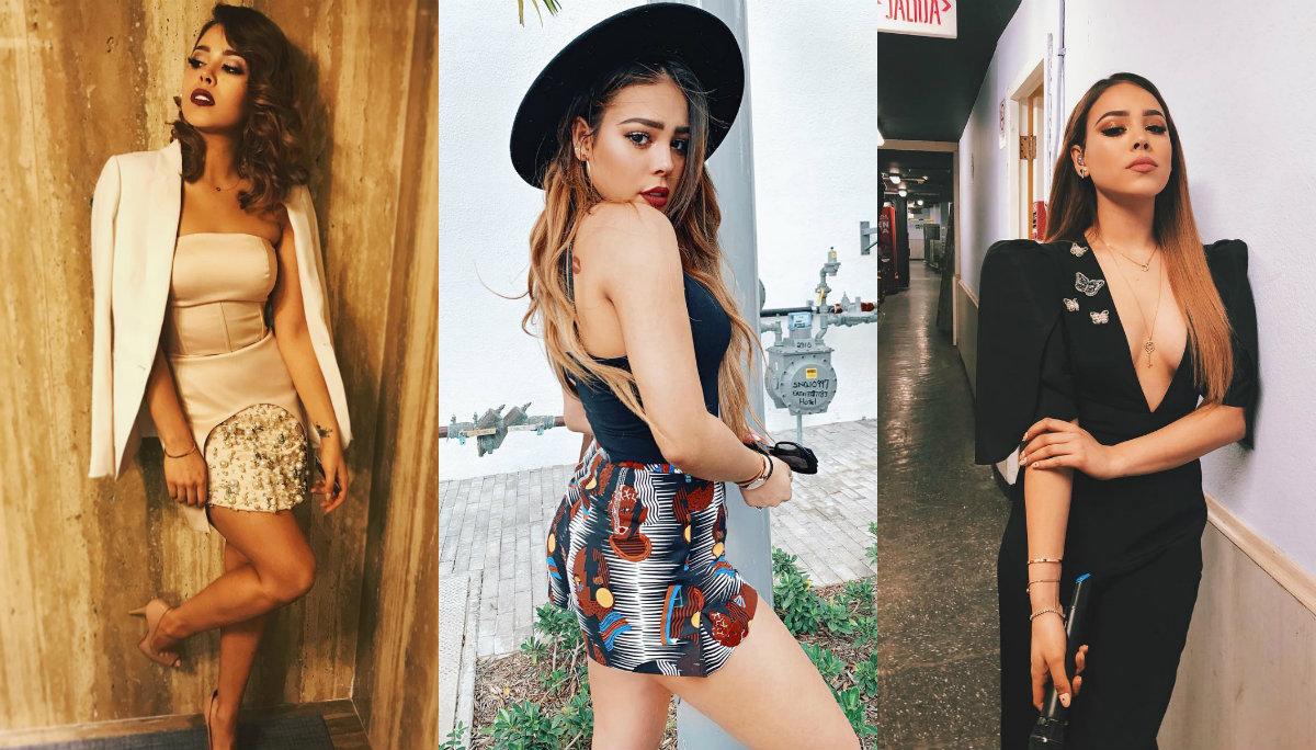 Danna Paola se deja fotografiar sin sostén y enciende las redes sociales