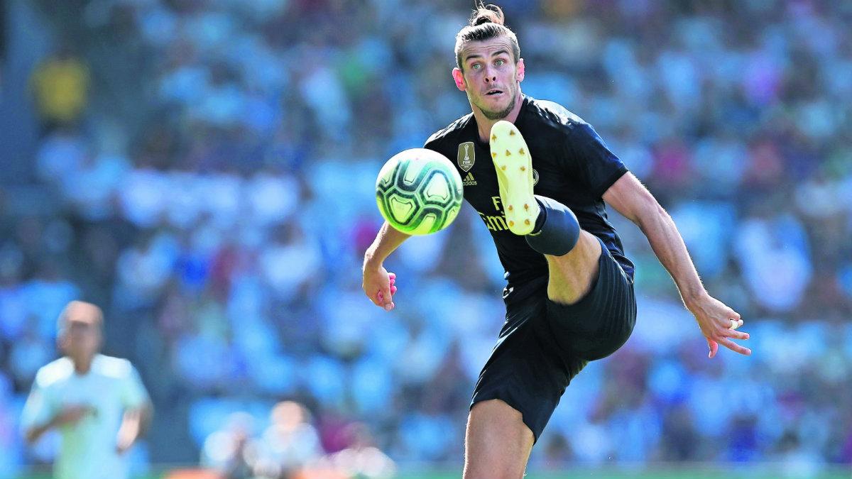 celta de vigo pierde partido real madrid abren temporada Bale