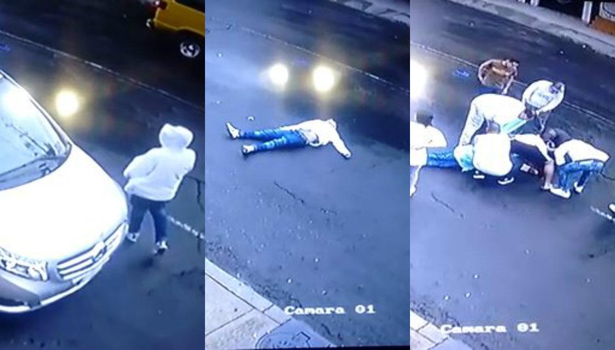 asesinan ladron delincuente camioneta peñon de los baños venustiano carranza cdmx