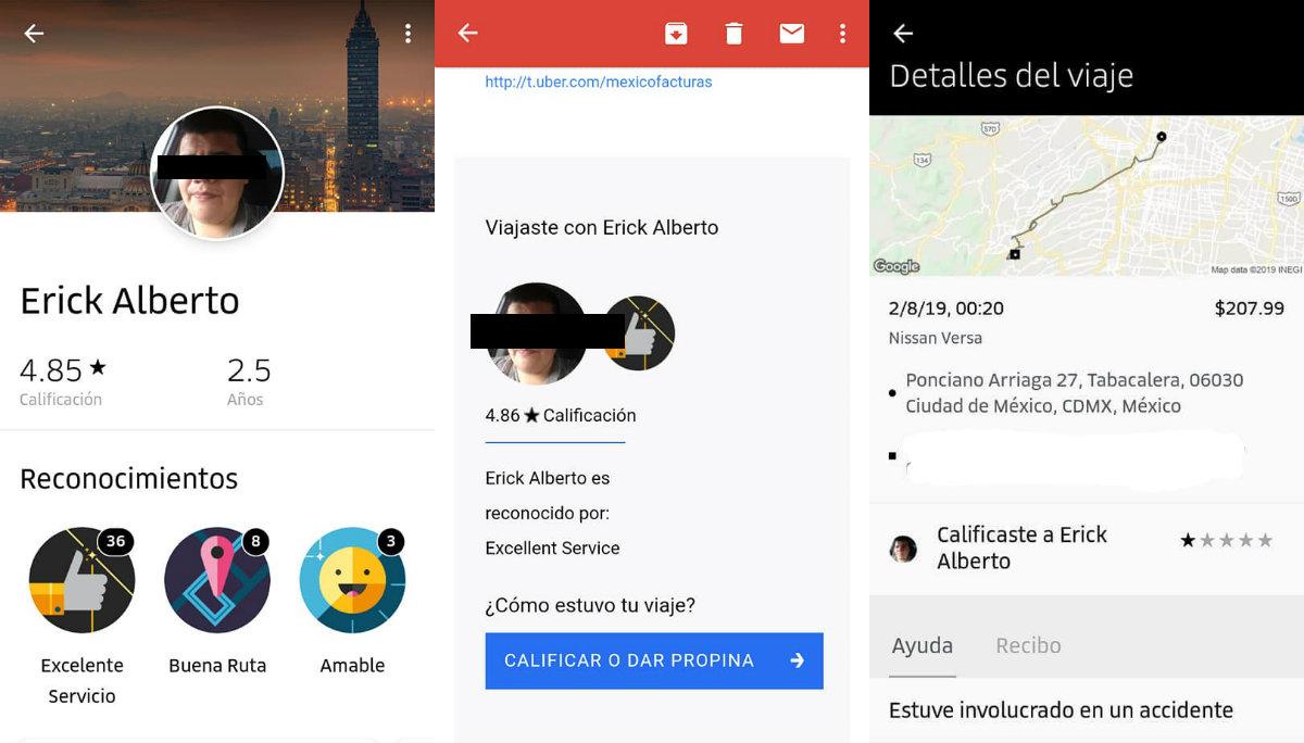 chofer de uber acusado secuestro ecatepec edomex