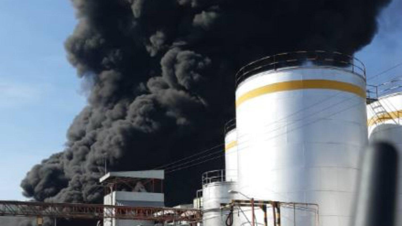Ciudad Industrial incendio Morelia Michoacán