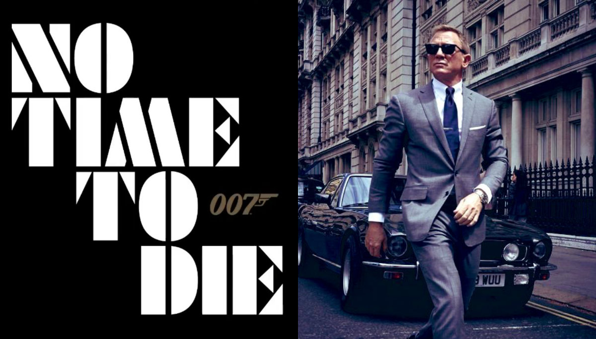 No Time To Die el título de la película número 25 de James Bond