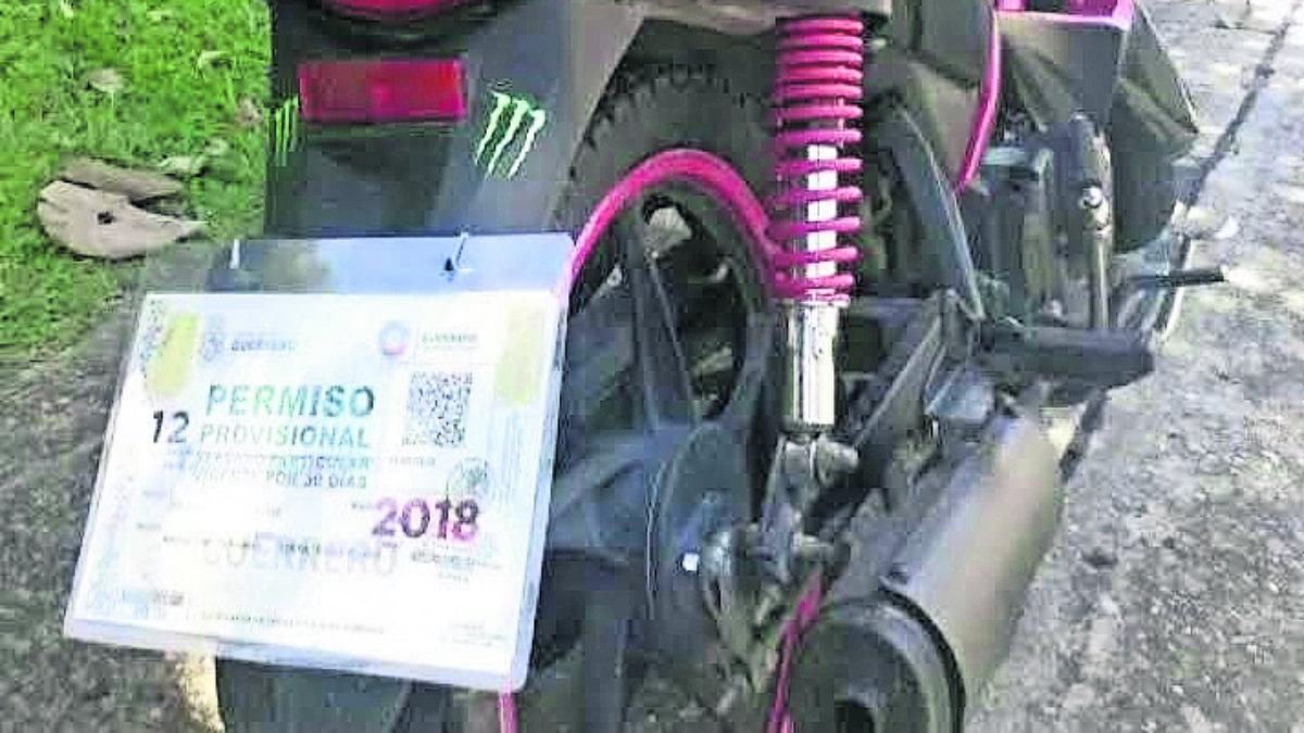 permisos circular documento trámite expedido febrero guerrero son falsos vehículos