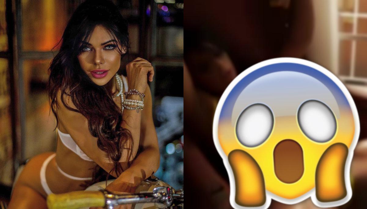 Suzy Cortez presume abdomen de acero en bikini extremo mientras derrama líquido sospechoso