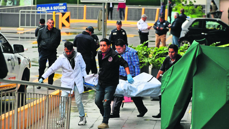 acribillan a polícia druante asalte edomex
