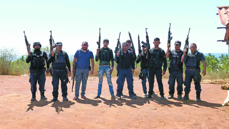autodefensas mexico republica mexicana estados donde operan