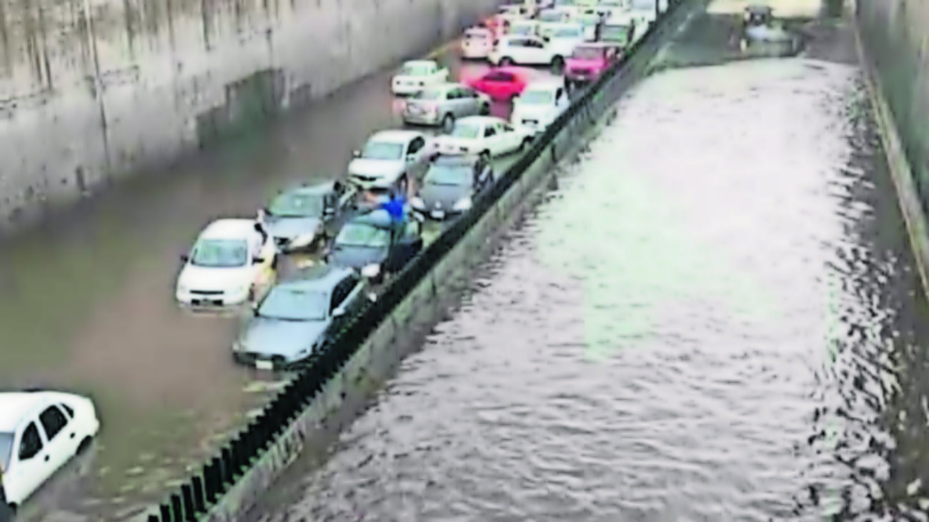 edomex toluca inundaciones drenaje coladeras basura granizo
