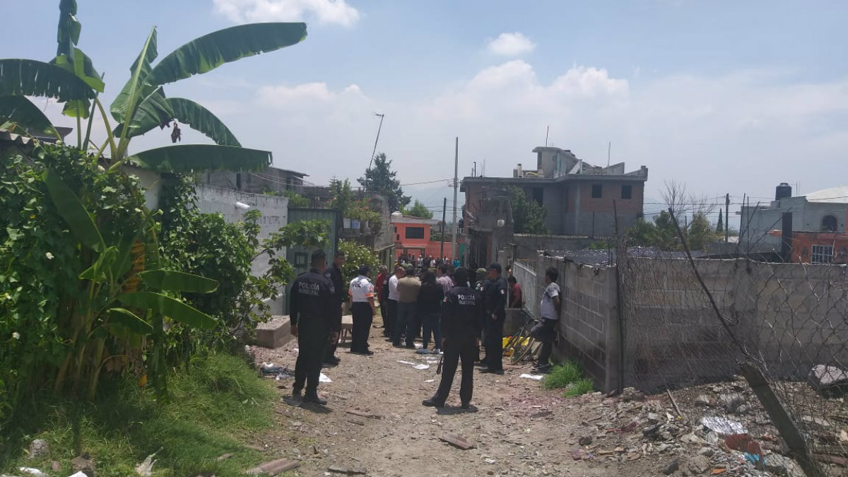 explosión taller pirotecnia tultepec