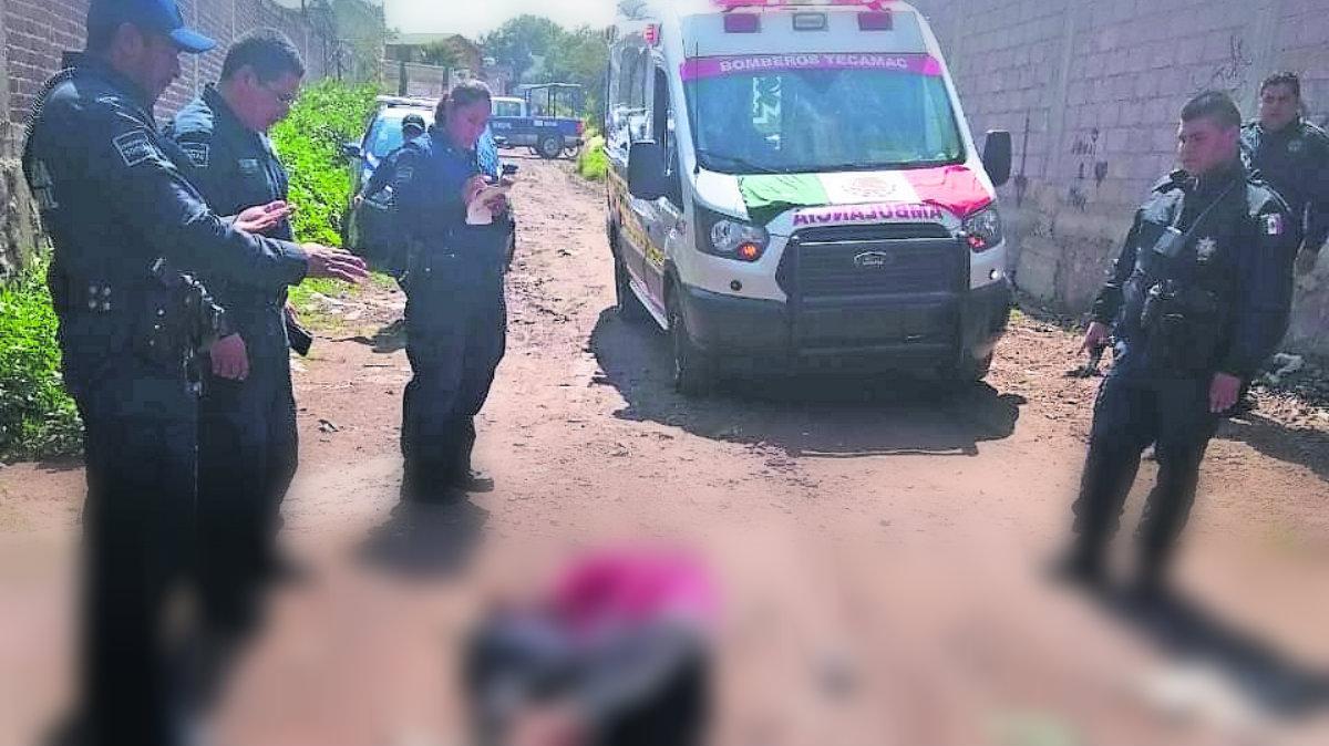 hallan cadáver colombiano extorsionador muerto sangre asesinato homicidio tecámac