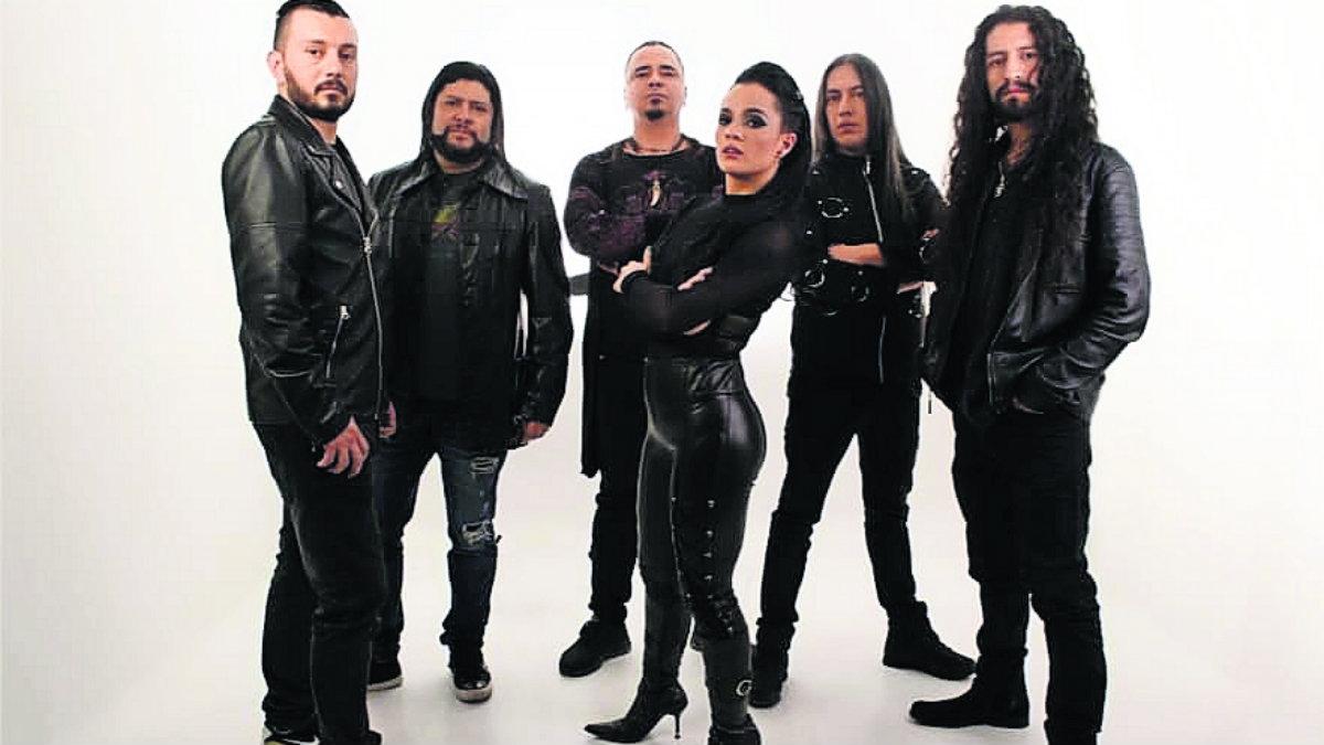 kraken banda rock heavy metal colombianos presentación