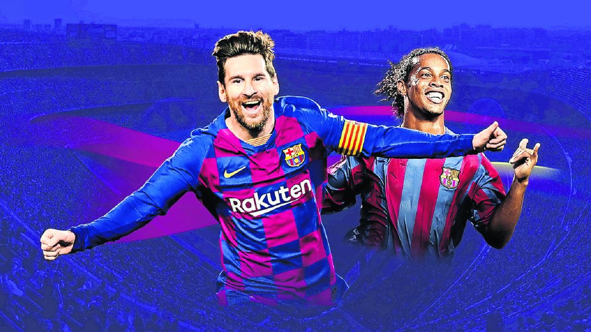 pro soccer videojuego futbol 2020 messi ronaldinho