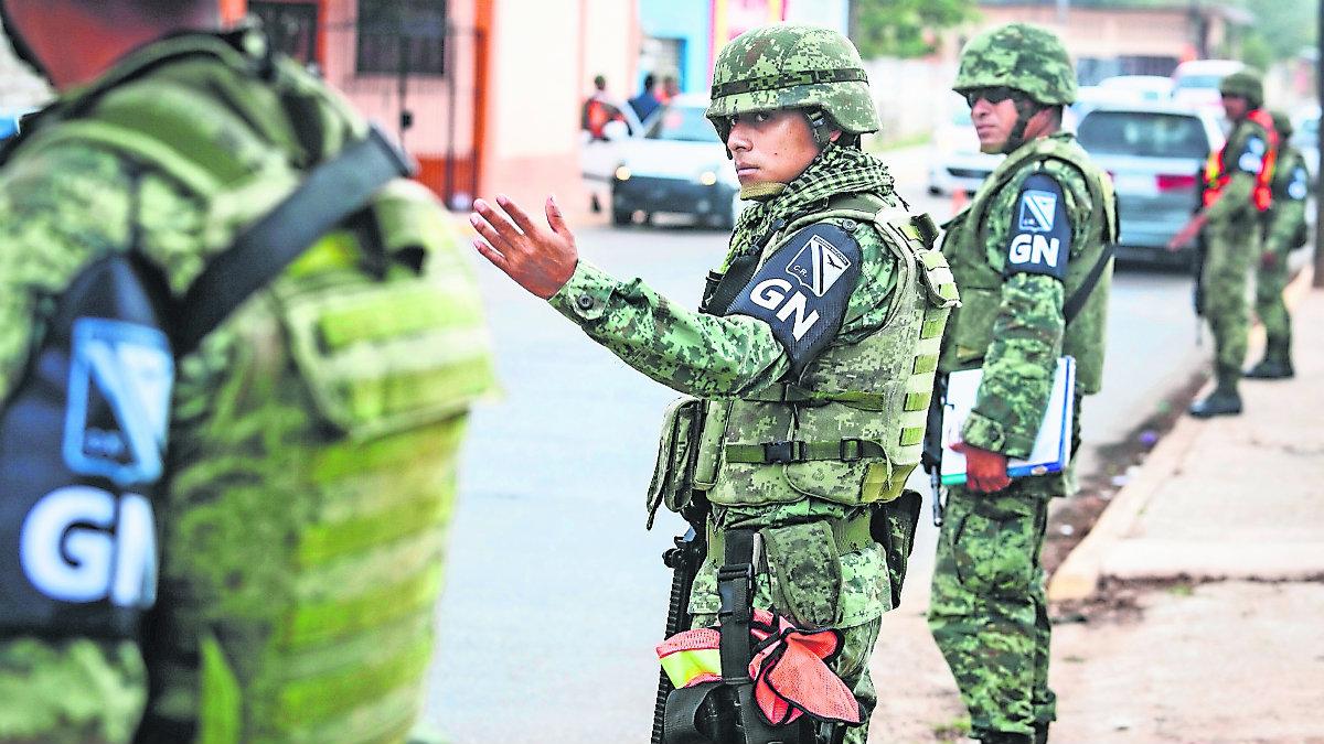 Estado de México Guardia Nacional