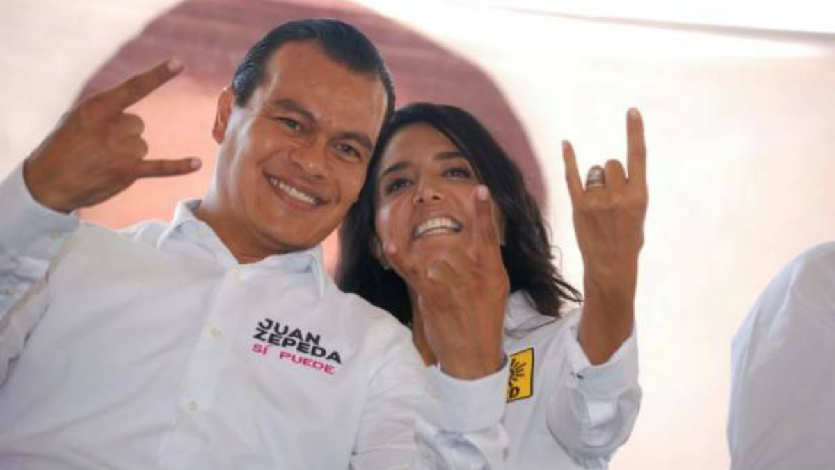 Con carta de renuncia Alejandra Barrales y Juan Zepeda cierran ciclo con el PRD