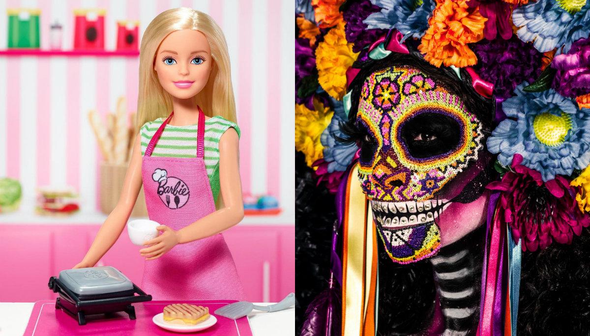 Barbie rinde tributo a México y lanzará muñeca para celebrar Día de Muertos