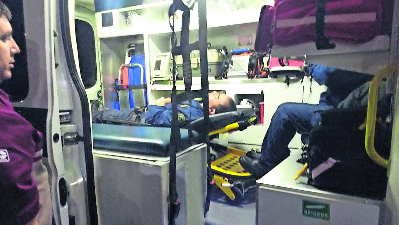 delincuentes agreden a policías en cdmx