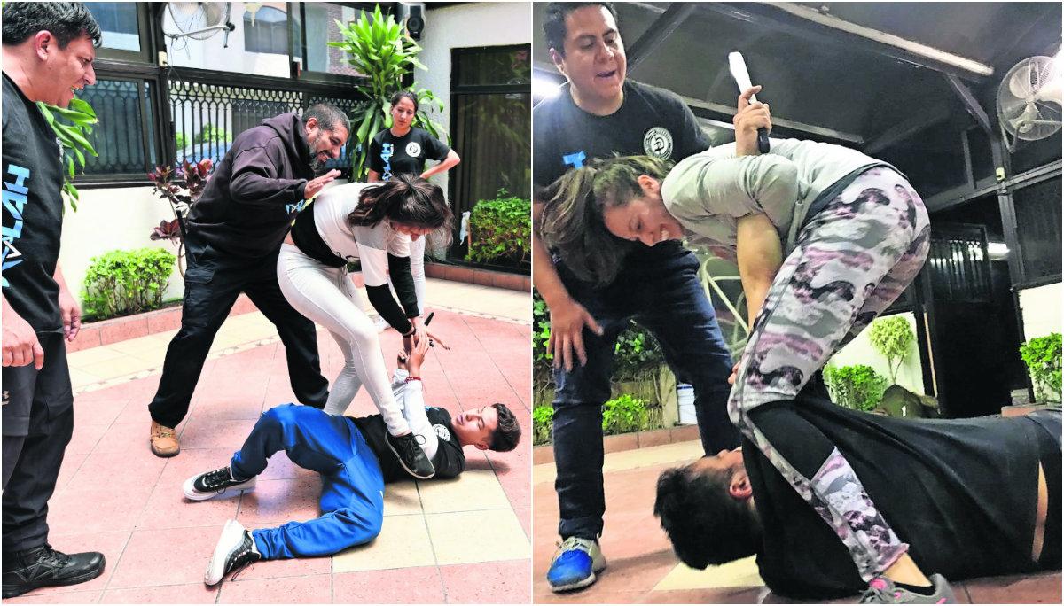 kalah combat system defensa personal aumento de inseguridad calles mexiquenses mujeres clases método israelí combate edomex